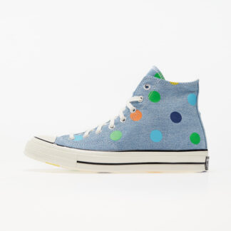 "Converse x Golf Wang ""Polka Dot"" Chuck 70 Hi Blue/ Egret/ Black 170011C"