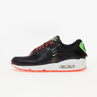Nike Air Max 90 WW Black/ Black-Flash Crimson-Green Strike CK7069-001