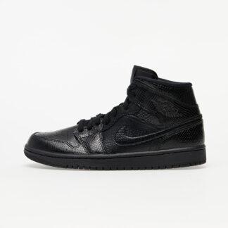 Air Jordan 1 Mid W Black/ Black-White BQ6472-010