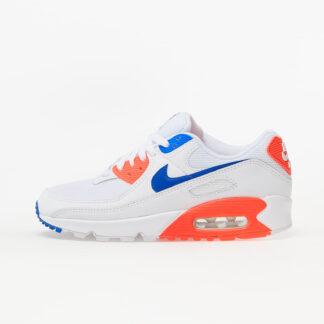Nike W Air Max 90 White/ Racer Blue-Flash Crimson CT1039-100