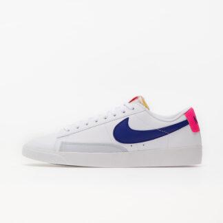 Nike Wmns Blazer Low White/ Concord-Hyper Pink-Pure Platinum DC9211-100