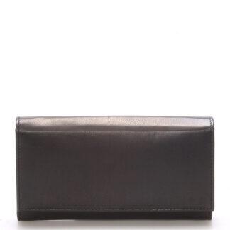 Stylová černá dámská peněženka - Delami Vippe černá