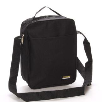 Černá pánská taška na doklady - Sanchez Marcos černá