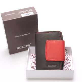 Luxusní dámská kožená peněženka černá - Bellugio Armi černá