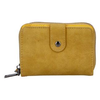 Dámská praktická tmavě žlutá peněženka - Just Dreamz Erin žlutá