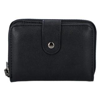 Dámská praktická černá peněženka - Just Dreamz Erin černá