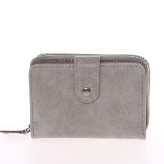 Dámska praktická šedá peněženka - Just Dreamz Erin šedá