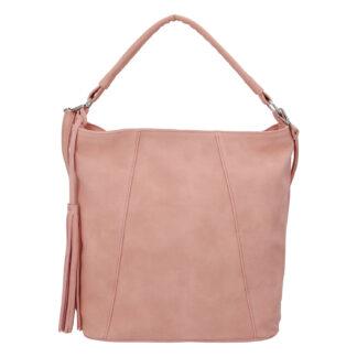 Módní dámská kabelka růžová - Carine Baylee růžová