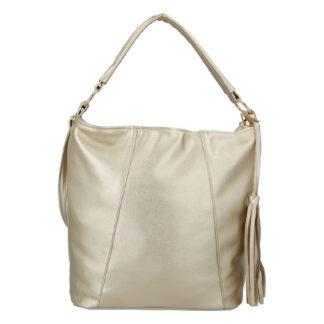 Módní dámská kabelka zlatá - Carine Baylee zlatá