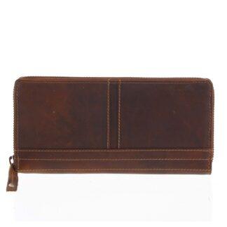Dámská kožená peněženka hnědá - Tomas Xambo hnědá