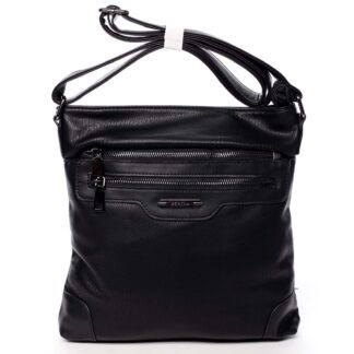 Dámská crossbody kabelka černá - Romina Hana černá