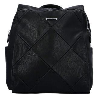 Dámský batoh černý - Silvia Rosa Movinon černá
