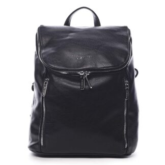 Dámský batoh černý - Silvia Rosa Bruno černá
