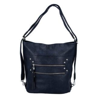 Dámská kabelka batoh tmavě modrá - Romina Alfa tmavě modrá
