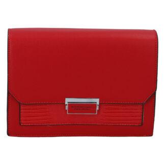Dámská crossbody kabelka červená - Silvia Rosa Inkany červená