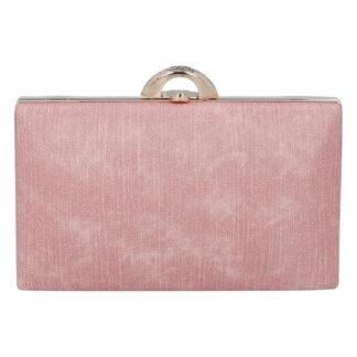 Luxusní dámské psaníčko růžové - Michelle Moon DaPirre růžová
