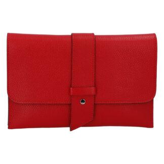 Luxusní dámská kabelka červená - ItalY Brother červená