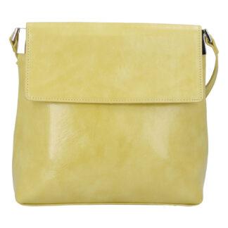 Dámská crossbody kabelka žlutá - DIANA & CO Buzzy žlutá