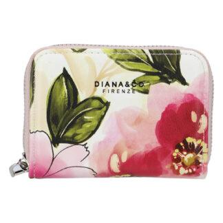 Dámské pouzdro na karty růžové - DIANA & CO Limited růžová
