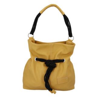 Dámská kabelka žlutá - Carine C1000 žlutá