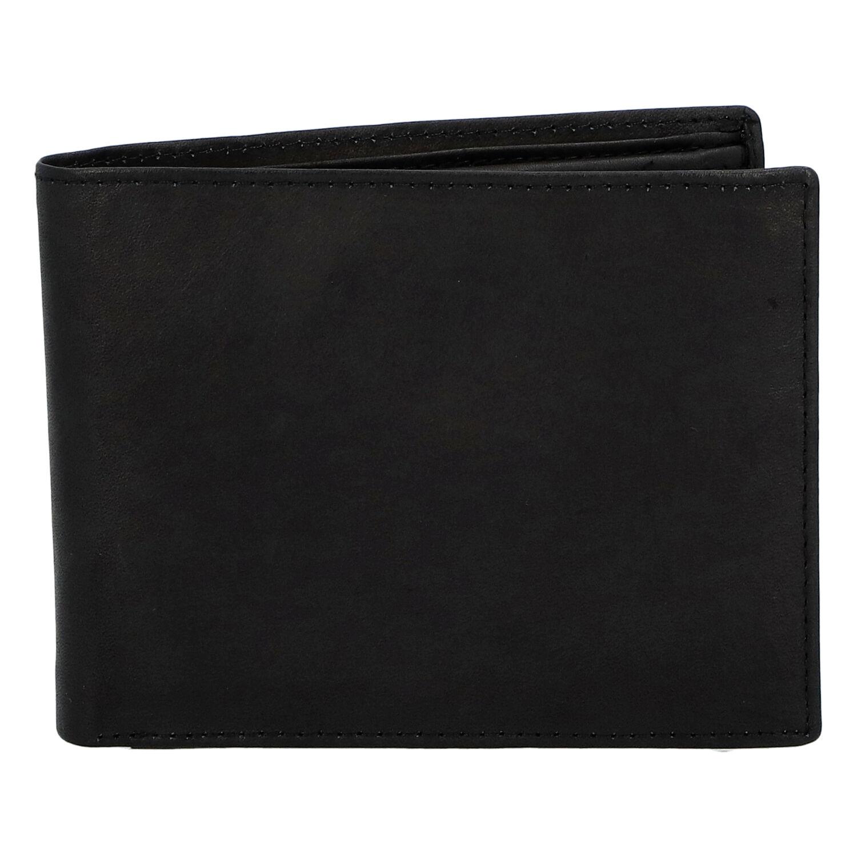 Pánská kožená peněženka černá - Diviley Marek černá