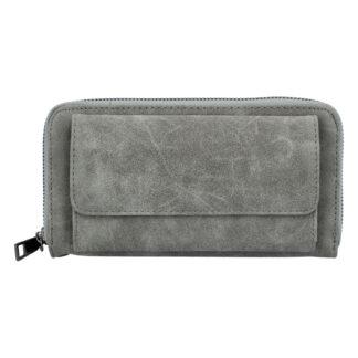 Dámská peněženka světle šedá - Just Dreamz Berin šedá