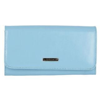 Dámská kožená peněženka světle modrá - Lorenti Noragen N modrá