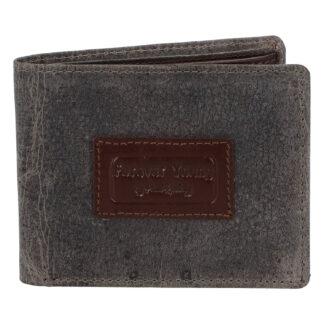 Pánská kožená peněženka šedá - Rovicky Kolos šedá