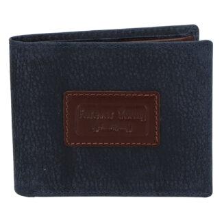 Pánská kožená peněženka tmavě modrá - Rovicky Kolos tmavě modrá
