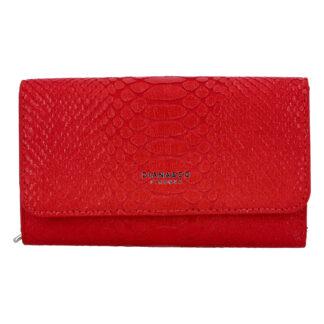 Dámská peněženka červená - DIANA & CO Snies červená