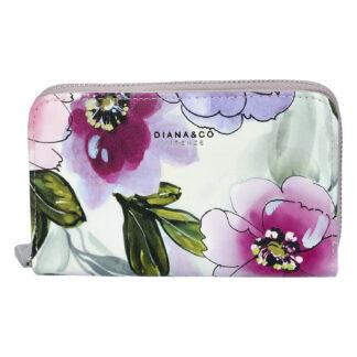 Dámská peněženka šedá - DIANA & CO Beperk šedá