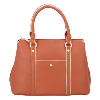 Dámská kabelka do ruky oranžová - DIANA & CO Cerendy oranžová