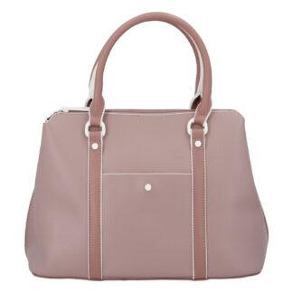 Dámská kabelka do ruky bledě fialová - DIANA & CO Cerendy fialová