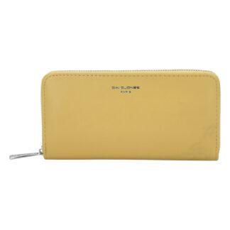 Dámská peněženka žlutá - David Jones P101 žlutá