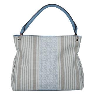 Dámská kabelka přes rameno bledě modrá - Pierre Cardin Jessy modrá
