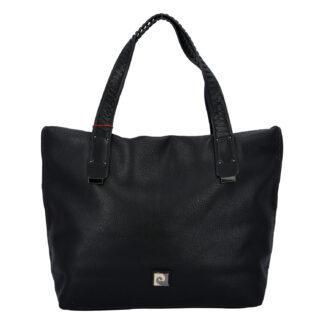Velká dámská kabelka přes rameno černá - Pierre Cardin Altin černá