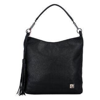 Velká dámská kabelka přes rameno černá - Pierre Cardin Elia černá