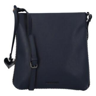 Dámská módní crossbody kabelka tmavě modrá - Marco Tozzi Coco tmavě modrá