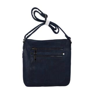 Dámská crossbody kabelka tmavě modrá - Romina Sara modrá