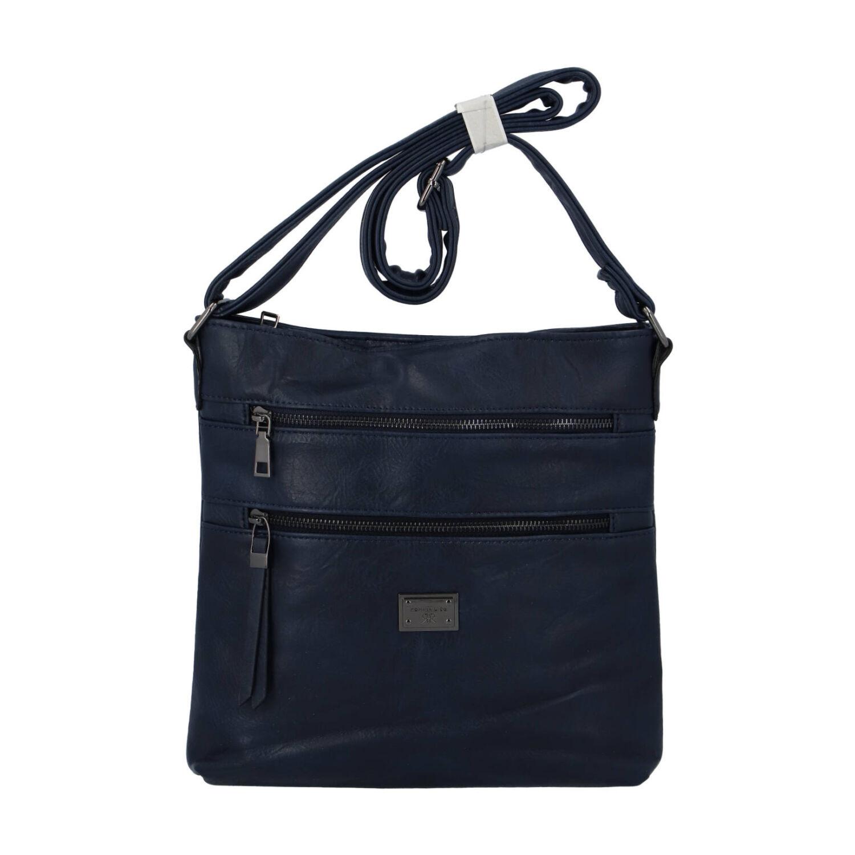 Dámská crossbody kabelka tmavě modrá - Romina Chiara tmavě modrá
