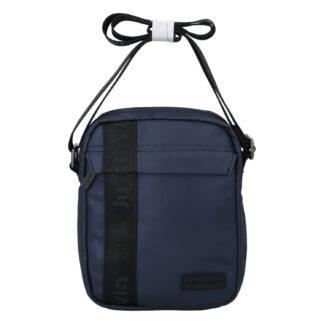 Pánská crossbody taška na doklady tmavě modrá - Justin & Kelvin Harry tmavě modrá
