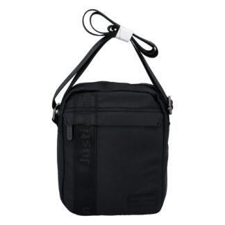 Pánská crossbody taška na doklady černá - Justin & Kelvin Harry černá