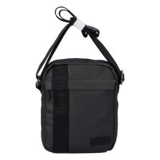 Pánská crossbody taška na doklady tmavě šedá - Justin & Kelvin Harry šedá