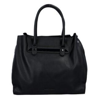 Dámská módní kabelka černá - Marco Tozzi Skuba černá