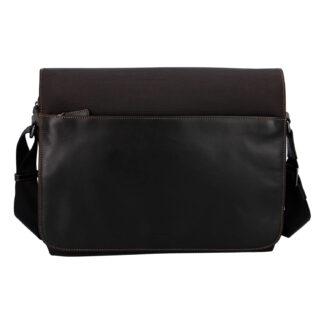 Pánská kožená taška přes rameno hnědá - Hexagona 296181 hnědá