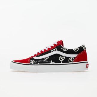 Vans Old Skool (Circle V) Red/ Black VN0A4U3B17B1