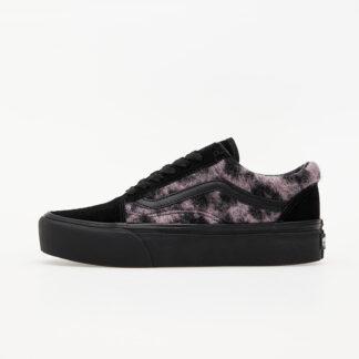 Vans Old Skool Platform (Mix Leopard) Pink/ Black VN0A3B3UTRE1