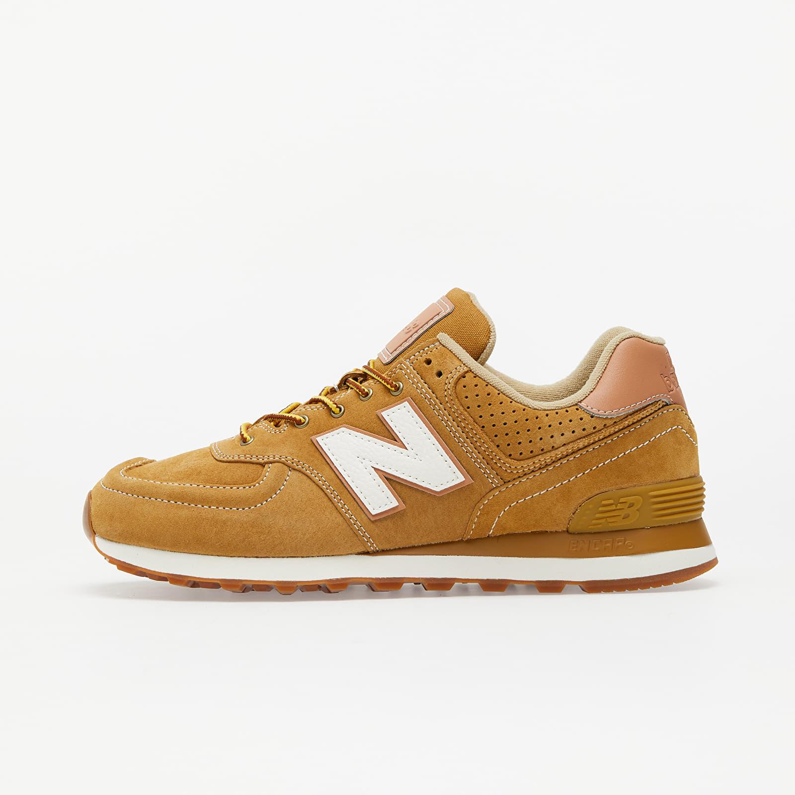 New Balance 574 Brown/ White ML574XAA