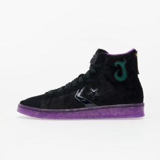 Converse x Joe Fresh Goods Pro Leather Black/ Black/ Amaranth Purple 170645C