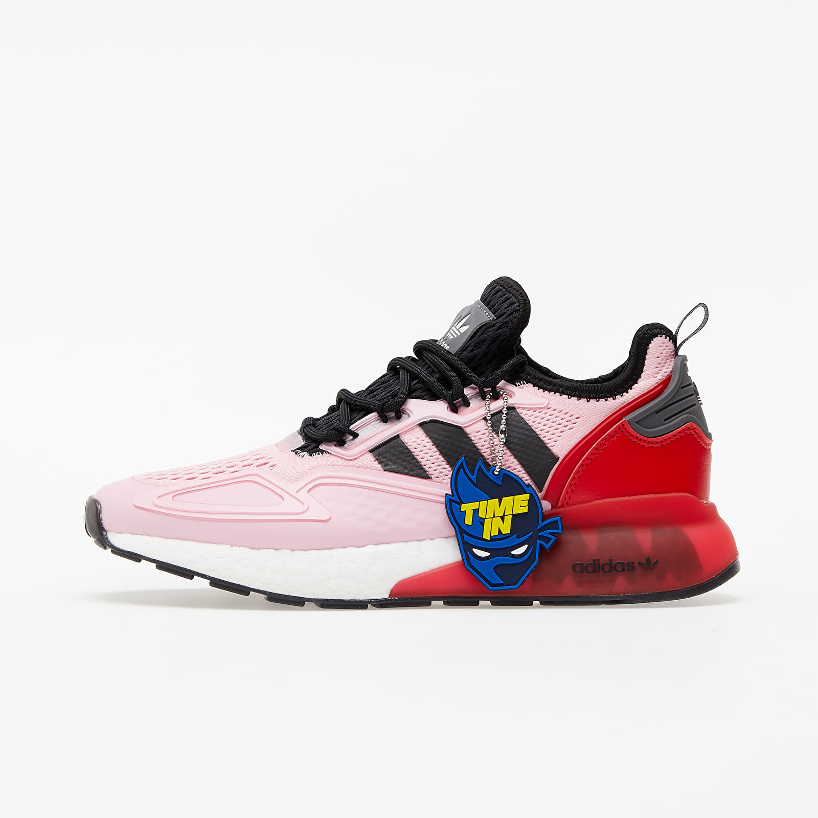 adidas x Ninja ZX 2K Boost True Pink/ Core Black/ Scarlet FZ0454